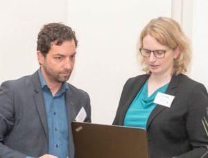 Oliver Spycher at conference