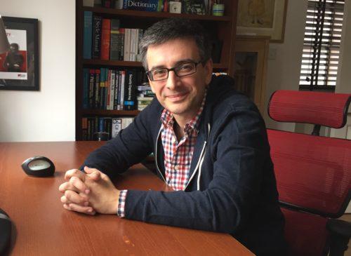 Photo: Ivan Ristić in his home