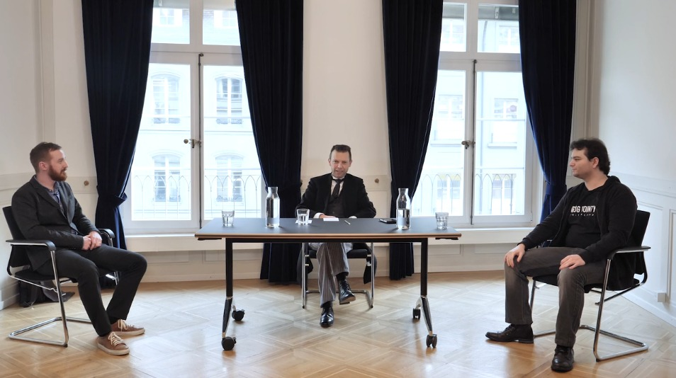 Christian Folini, Tobias Ospelt and Raphäel Arrouas